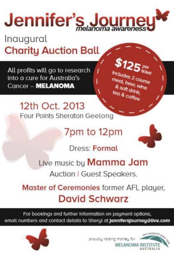 Jennifer's Journey Charity Auction Ball