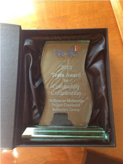 Peter Mac 2013 Community Team Award