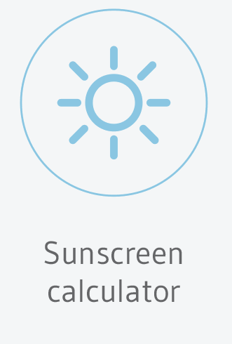 Sunscreen calculator